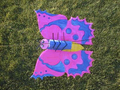 Butterfly flier craft instructions and templates for Dltk crafts for kids