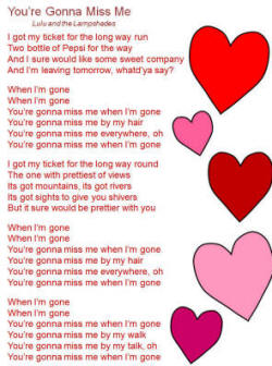 The Cup Song I'm trying to fly in the good things. the cup song