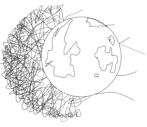 Outer Space Crafts And Coloring Pages