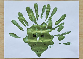 Handprint (and Footprint) Dinosaurs