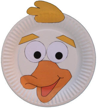Paper Plate Duck Craft or Mask  sc 1 st  DLTK-Kids & Paper Plate Animal Crafts