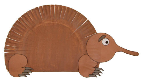 Paper Plate Echidna Craft  sc 1 st  DLTK-Kids & Paper Plate Animal Crafts