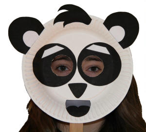 Paper Plate Panda Craft or Mask  sc 1 st  DLTK-Kids & Paper Plate Panda Craft
