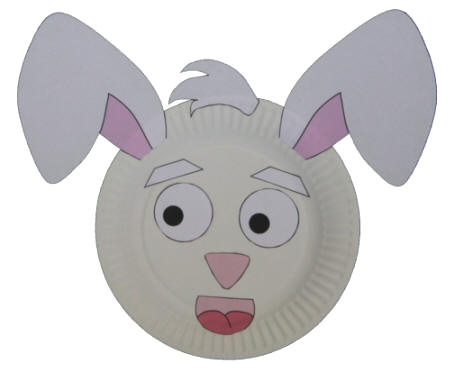 Paper Plate Rabbit  sc 1 st  DLTK-Kids & Paper Plate Rabbit Craft