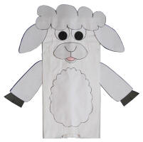 photograph about Sheep Craft Printable called Lamb Crafts