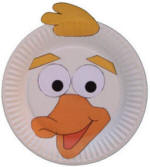 duck paper plate craft