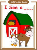 farm mini books with activity worksheets - Dltk Printable Books