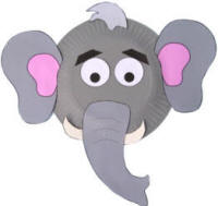 Elephant Paper Plate Craft