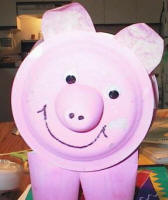 paper plate pig craft see instructions for a side view - Dtlk Kids Crafts
