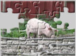 Pig jigsaw puzzles