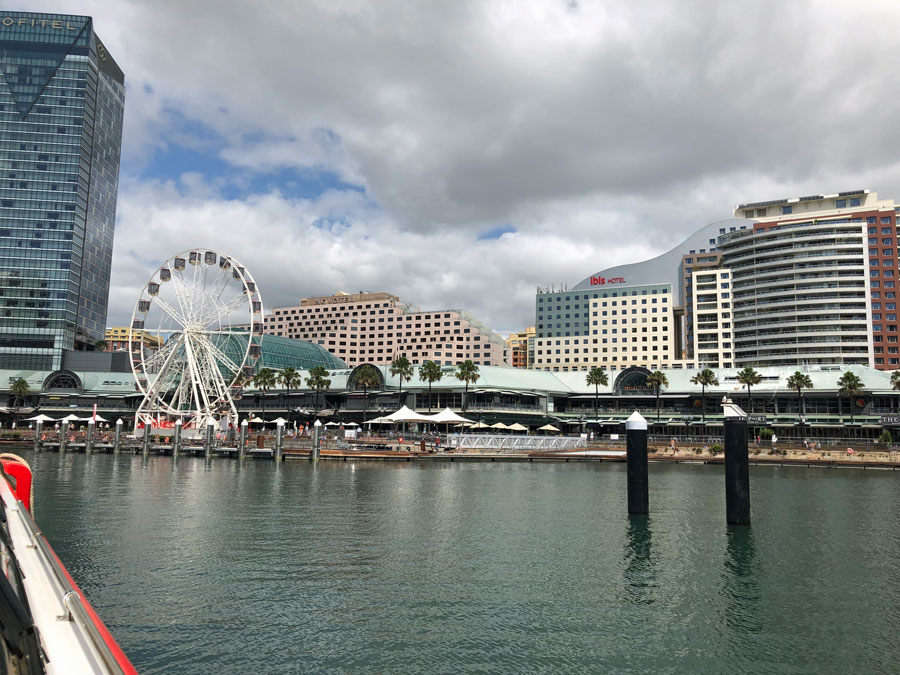 We stayed at the Pullman Quay Grand Sydney Harbour.
