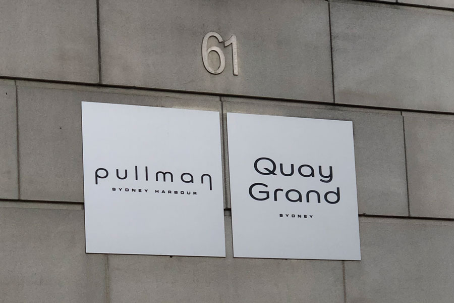 We stayed at the Pullman in Sydney. Great location!
