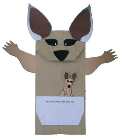 paper bag rabbit puppet | Diigo Groups