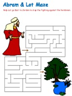 Abram and Lot Mazes