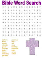 dltk s bible activities for kids about the bible word search
