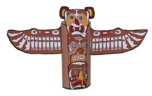 Totem Pole Craft for Kids