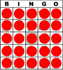 picture relating to Bingo Chips Printable identify Recommendations upon How in direction of Perform BINGO