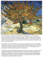 famous art work - tree themes