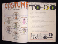 halloween bullet journal ideas