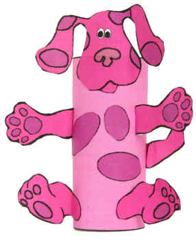 Magenta for Blues clues magenta coloring pages