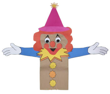 Paper Bag Puppet Patterns - Free Pattern Cross Stitch