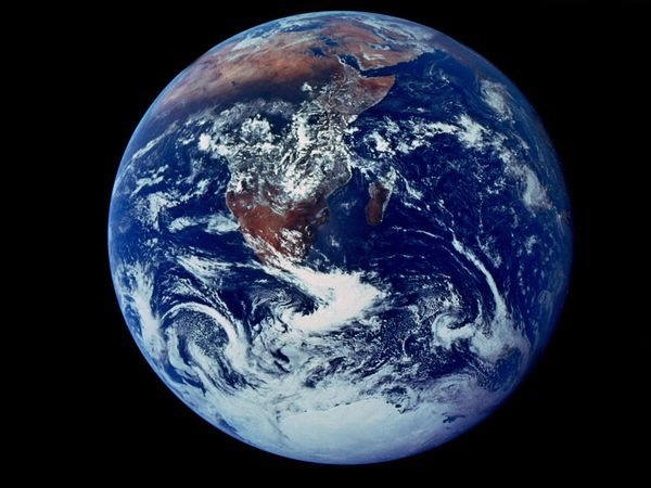 Blue Marble Earth Photo