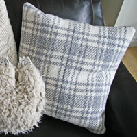 Upcycled Coat Pillow