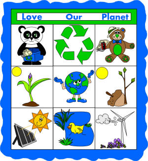 Earth Day Paper Quilt Craft