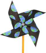 earth day pinwheel