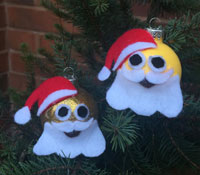 Emoji Christmas Ornaments