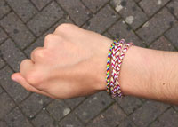 Rope-Style Friendship Bracelets
