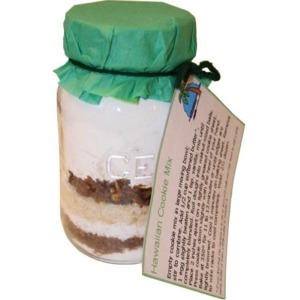 Hawaiian Cookies in a Jar