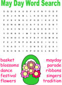 may day word search
