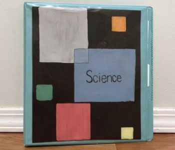 DIY Paintings for Binders