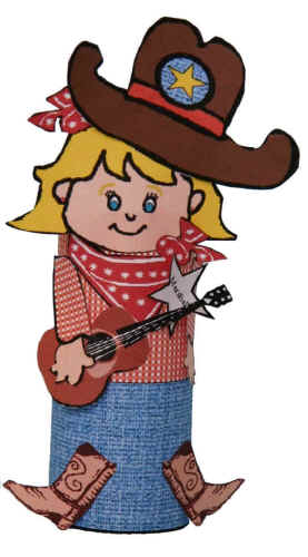 Crafts For Kids Cowgirl