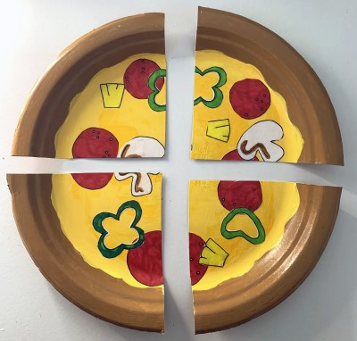 Pizza Paper Plate Craft