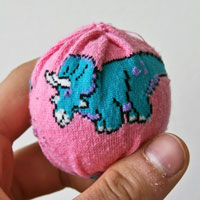 DIY hacky sack craft