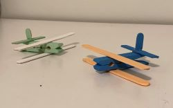Mini Wooden Plane Craft