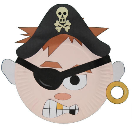 Pirate Mask Template
