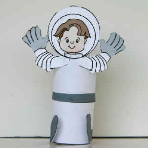 dltks crafts for kids astronaut craft - Dtlk Kids Crafts