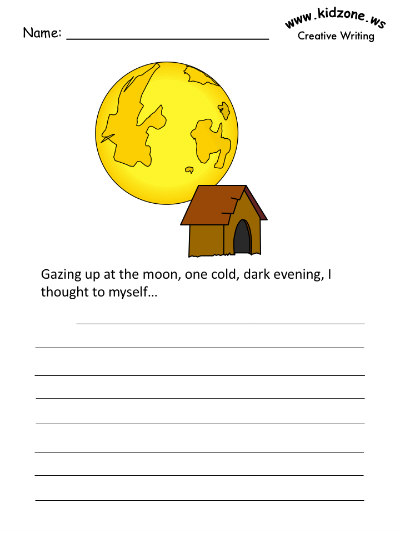 Moon Writing Prompts