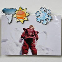 weather-themed clothespin craft