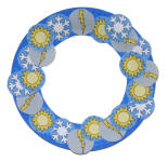 Weather Paper Plate Wreath