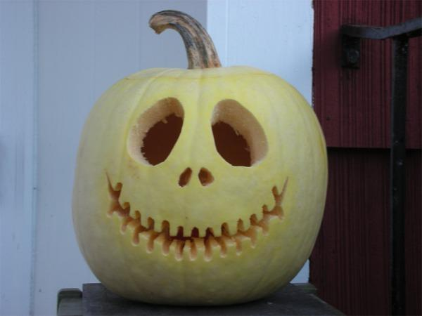 215 White pumpkin carving ideas