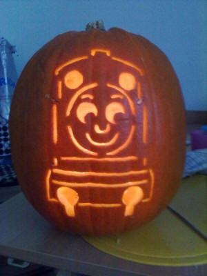 Thomas Pumpkin Template 228
