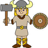 viking paper craft