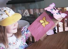 pig crafts for kids paper bag pig puppet - Dtlk Kids Crafts