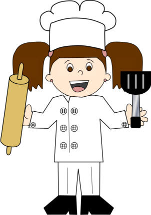 Baker or Chef Paper Craft