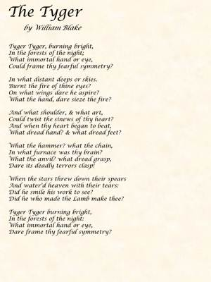 Poetry By William Blake