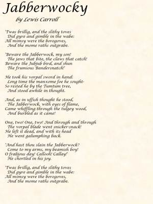 Poetry By Lewis Carroll